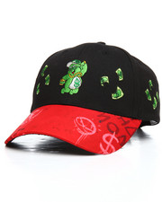 Dad Hats - Raining Money Bear Strapback Cap