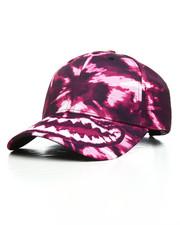 Hats - Tie Dye Weed Strapback Cap