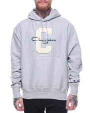 Champion - Reverse Weave Large C And Script Pullover Hood-2197049