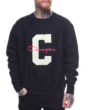 Champion - Reverse Weave Large C And Script Crew