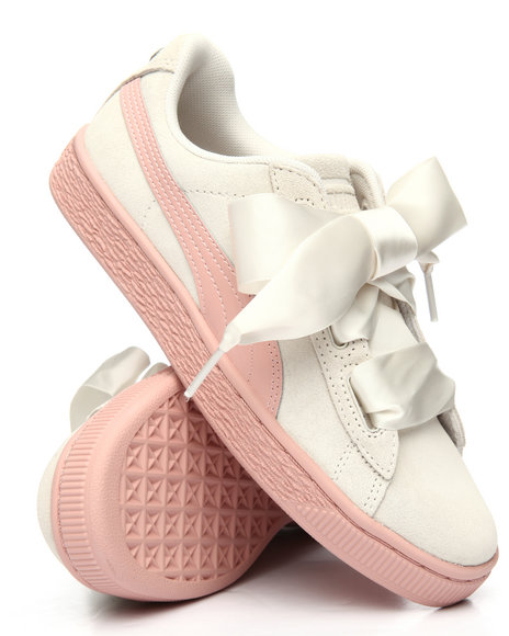 size 40 68dc6 4eda5 Buy Suede Heart Jewel Jr.Sneakers (4-7) Girls Footwear from ...