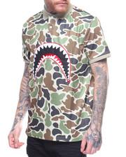 Polos - Sharkmouth Camo Polo Shirt
