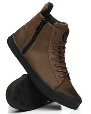 TAYNO - Manson High Top Sneakers w/Side Zip-2197766