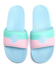 Pink Dolphin - Split Waves Slides-2197364