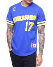 NBA, MLB, NFL Gear - Golden State Warriors Mesh Crewneck - Chris Mullin-2197877