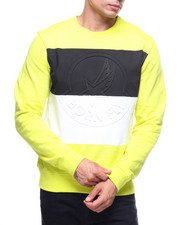 Born Fly - RUGBY STRIPE CREWNECK