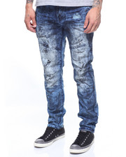 Kleep - PREMIUM OIL SLICK DENIM IN FUMEE WASH-2197646