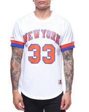 NBA, MLB, NFL Gear - New York Knicks Mesh Crewneck - Patrick Ewing-2197865