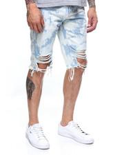 Shorts - DISTRESSED DENIM SHORT