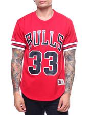 NBA, MLB, NFL Gear - Chicago Bulls Mesh Crewneck - Scottie Pipen-2197897