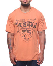 Von Dutch - S/S Glory, Guts, Oil Tee (B&T)