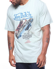 Von Dutch - S/S Motorcycle Lean Tee (B&T)