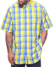 Shirts - Easycare Large Multi-Check S/S Woven (B&T)