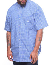 Shirts - Easycare Iconic Gingham S/S Woven (B&T)
