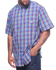 Button-downs - Easycare Multi Gingham S/S Woven (B&T)