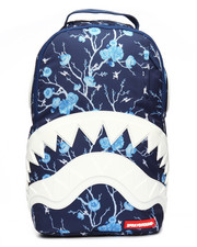 Accessories - Cherry Blossom Rubber Shark Backpack-2196472