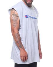 Champion - Jersey Muscle Script Logo Tank (B&T)