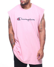 Champion - Basic Muscle Script Logo Tank Top (B&T)