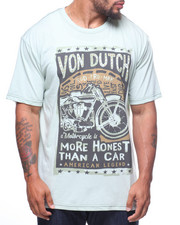 Von Dutch - S/S More Honest Than A Car Tee (B&T)