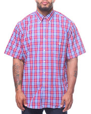 Shirts - Easycare Large Check S/S Woven (B&T)