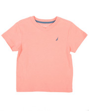Nautica - Solid V-Neck Tee (2T-4T)