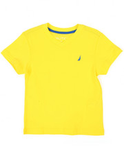 Boys - Solid V-Neck Tee (2T-4T)