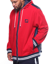 Nautica - Mix Media Hoodie (B&T)-2199059