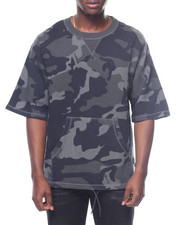 Sweatshirts & Sweaters - Madison Camo SS Fleece Sweatshirt-2198688