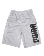 Bottoms - Screenprint Performance Shorts (8-20)