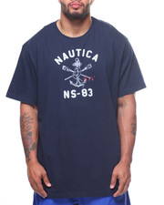 Nautica - S/S Crossed Oars Tee (B&T)-2199025