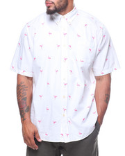 Shirts - Flamingo Sport Print S/S Woven