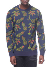 WESC - Miles Pineapple Crewneck Sweatshirt