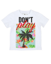 Akademiks - Palm Tree Applique Print Tee (2T-4T)-2198595
