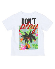 Akademiks - Palm Tree Applique Print Tee (4-7)-2198610