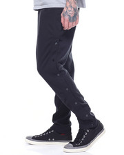 Global Movement Mens - DOUBLEFACE RELAX SNAP PANT-2198724