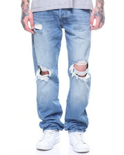 True Religion - GENO FLAP DELIQUENT BLOWN OUT KNEE JEAN-2199503