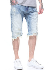 SMOKE RISE - DENIM SHORT -STANDARD BLUE-2199651