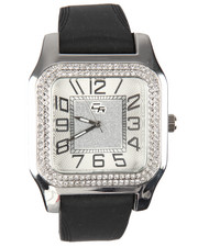 Jewelry & Watches - Square Bling Watch-2198369