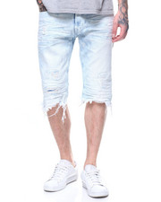 SMOKE RISE - DENIM SHORT -STELLA BLUE-2199629