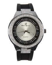 Jewelry & Watches - Round Bling Watch-2198372