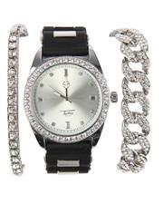 Jewelry & Watches - 3 Pc Watch And Bracelet Set-2196383