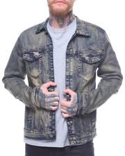 Denim Jackets - VINTAGE WASH DENIM JACKET