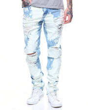 Jeans - Pacific Denim In Acid/Cloud Wash