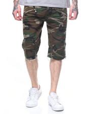 Shorts - CAMO TWILL BIKER SHORT