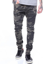 Jordan Craig - CAMO SLASH KNEE JEAN
