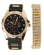 Accessories - 2 Pc Watch And Bracelet Set
