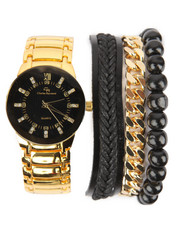 Accessories - 4 Pc Watch And Bracelet Set