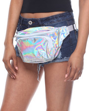 Bags - Metallic Hip Sack