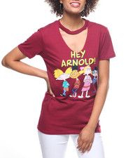 Graphix Gallery - Hey Arnold Choker Neck Tee
