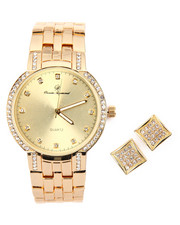 Accessories - Watch And Earrings Set